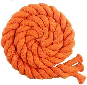 Cuerda Macrame de la cuerda de 20 mm cuerda de algodón suave ...
