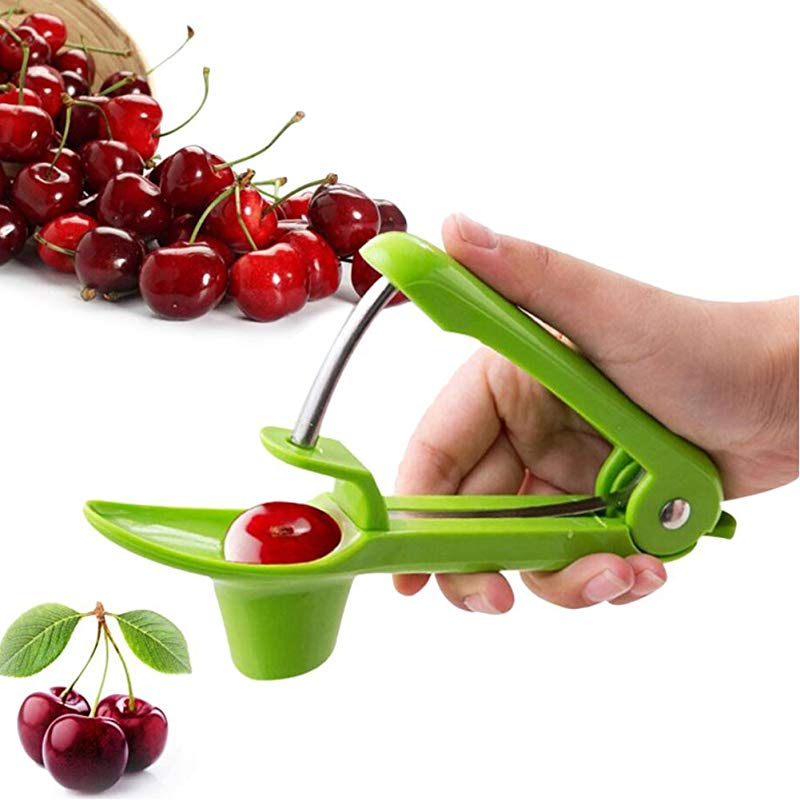 Cherry Pitters Remover Plastic Cherry Stone Remover Durable Olive Pitters Fruit Kitchen Tools