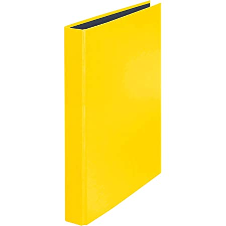 Veloflex 1143310 Ringbuch VELOCOLOR DIN A4 4-Ring-Mechanik Ordner Karton 255x318x45 gelb Ringordner