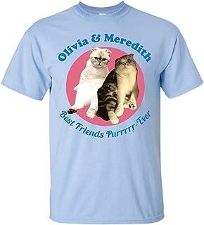 Original Olivia & Meredith Best Friends Pur Ever Swift Friends Cats T-Shirt