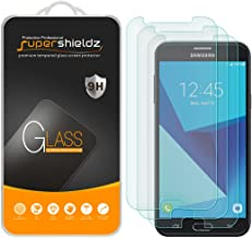 (3 Pack) Supershieldz for Samsung (Galaxy J7 Sky Pro) Tempered Glass Screen Protector, 0.33mm, Anti Scratch, Bubble Free