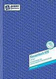 Avery Zweckform 426 Kassenbuch, DIN A4, nach Steuerschiene 300, 100 Blatt, weiß (3er Pack, mit Blaupapier)