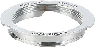 K&F Concept レンズマウントアダプター KF-LM-5075 (ライカLマウントレンズ → ライカMマウント変換)