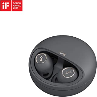AUKEY Auriculares Bluetooth 5, Auriculares Inalambricos 7 Horas de Reproducción por Carga, Sonido Superior, Control Táctil...