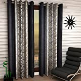 Material: Polyester, Color: Grey, Transparency: Semi Transparent Dimension for each curtain: Width 48 inches X Length 84 inches Package Content: 1 Door Curtain Normal Hand Wash or Machine Wash