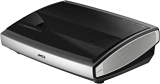 JmGO U1 Laser TV Home Cinema Projector | Native 4K UHD | Ultra Short Throw | ALPD 3.0 2400 ANSI Lumens | Hi-Fi Stereo Sound | Global Languages Support