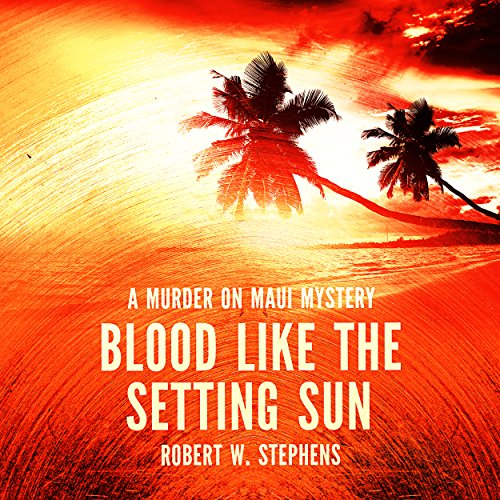 Blood Like the Setting Sun audiobook cover art