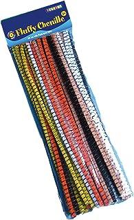 Playbox PBX2470005 2470005 Chenille's, Set of 50 Pieces, Color, Length-30 cm, Diameter-0.7 cm, Striped