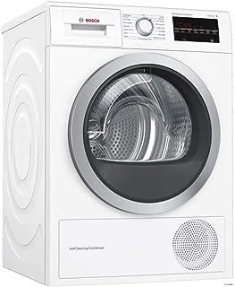 Bosch Serie 6 WTW87499FF sèche-linge Autonome Charge avant Blanc 9 kg A - Sèche-linge Pompe à chaleur, Blanc, Panier à lai...