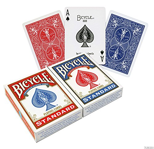 Mazzi di carte da gioco Bicycle Standard Confezione originale