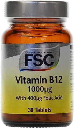 FSC 1000ug Vitamin B12 - Pack of 30 Tablets