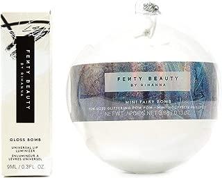 Fenty Beauty Diamond Milk Gloss Bomb Lip Gloss and Mini Fairy Bomb in Candy Sparkles Set