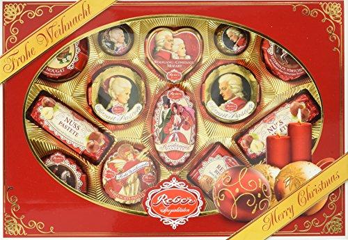 Reber Spezialitäten Weihnachtspackung, 1er Pack (1 x 525 g)