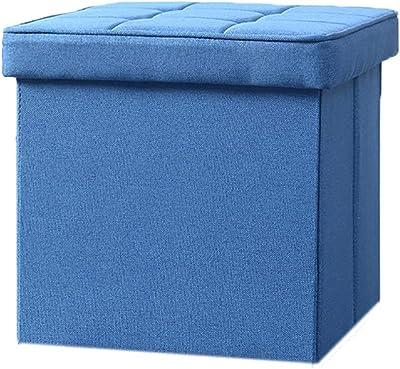 Brilliant Amazon Com Foot Stool Folding Storage With Lid Ottoman Box Creativecarmelina Interior Chair Design Creativecarmelinacom