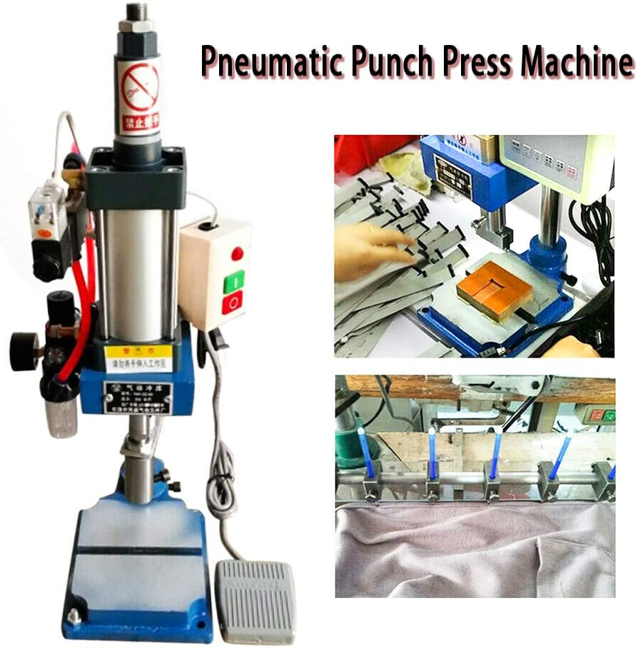 Punch Machine TBVECHI 110V Fixed price for sale Press Desktop Great interest Pneumatic Small