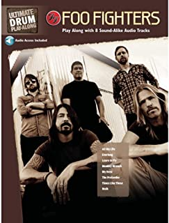 Ultimate Drum Play-Along Foo Fighters: Authentic Drum, Book & 2 Enhanced CDs