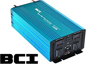 BCI Watt Pure Sine Wave Inverter / 12VDC to 110VAC (1000 Watt)