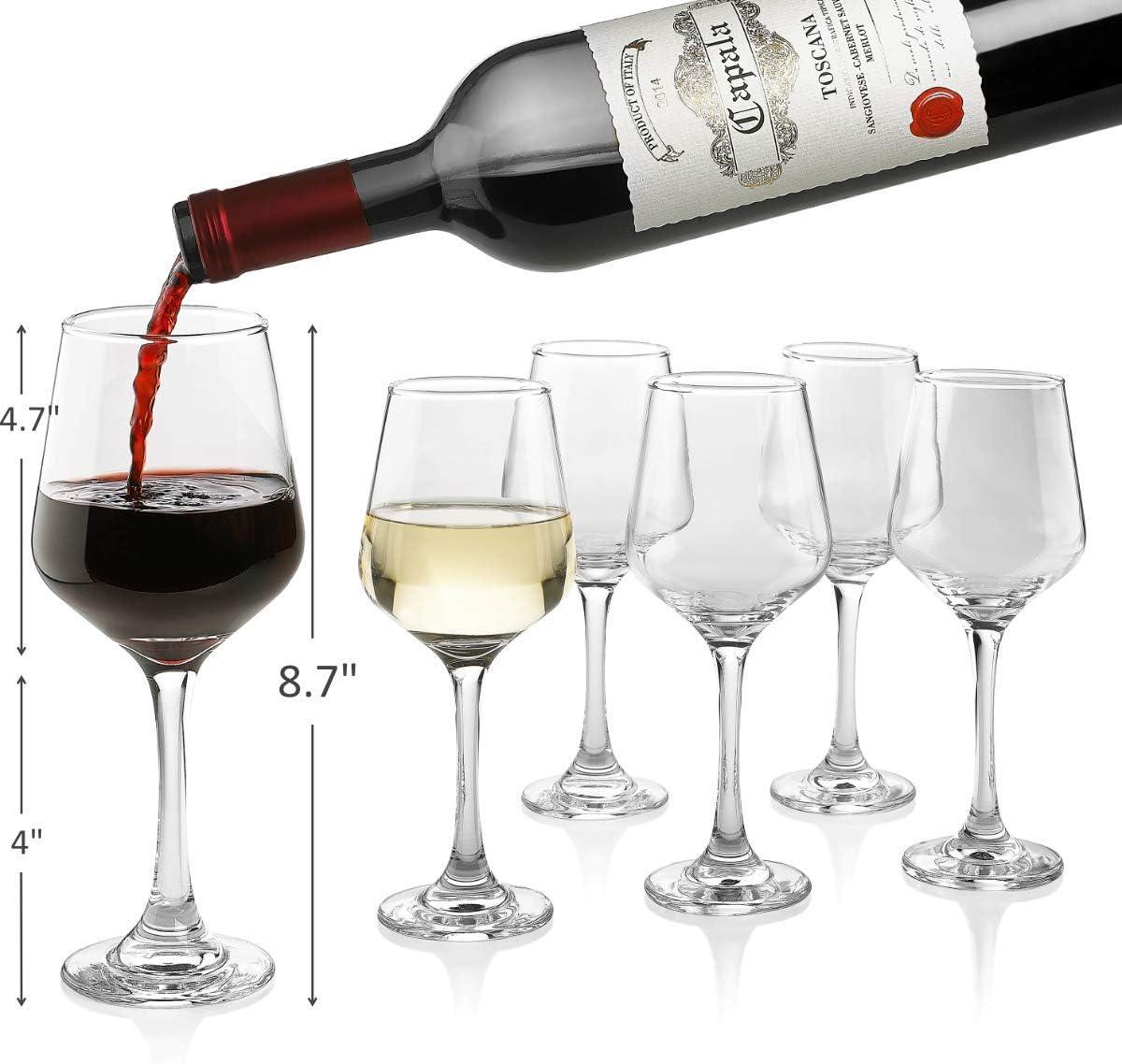 Premium Wine Glasses 14 Ounce - Classic Free Max 65% OFF Clear Ranking TOP2 Gla Lead