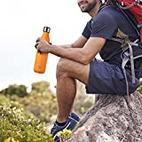 Ecooe 750ml Trinkflasche (Orange) - 6