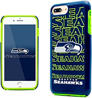 iPhone 7 Plus Case, Dreamwireless Dream Impact Seattle Seahawks Dual Layer [Shock Absorbing] Protection Hybrid PC/TPU Rubber Case Cover for Apple iPhone 7 Plus, Blue/Green