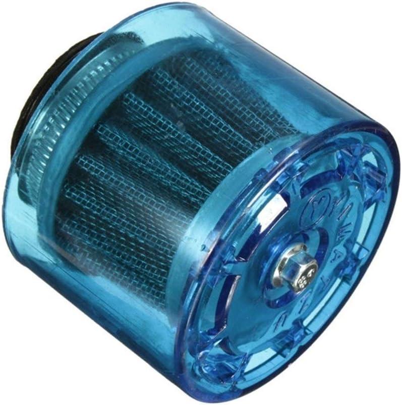 40-42mm blu universale della motocicletta del motociclo aria Filtro pulitore 50cc-250cc ATV Pit Dirt Bike Scooter Splash Proof 1pcs Gzh Moto 28//32//35//38 Color : 28mm