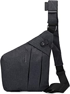 TOLOG Sling Bag Lightweight Shoulder Crossbody Pocket Bags Slim Anti Theft Multipurpose Chest Daypacks for Sports Travel Hiking