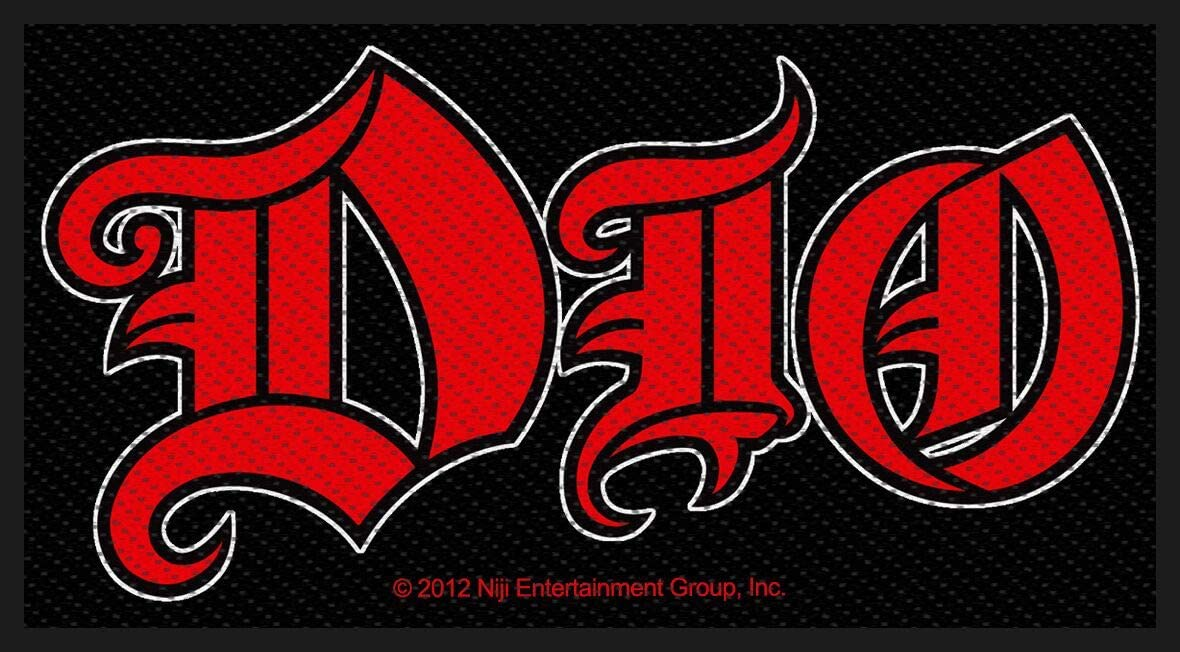 Dio Band Logo Patch Ronnie James Metal Music Woven Jacket Save money Heavy Max 85% OFF