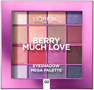 L'Oreal Paris Infallible Eye Shadow Mega Palette - Berry Much Love