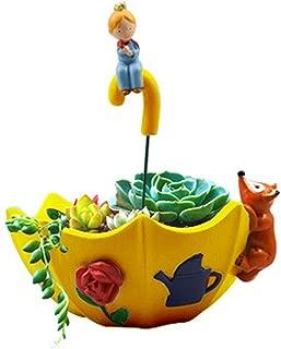 RARITYUS Creative Cute Cartoon Flowerpot Animal Umbrella Plants Resin Succulent Plant Office House Desk Planter Mini Ornament