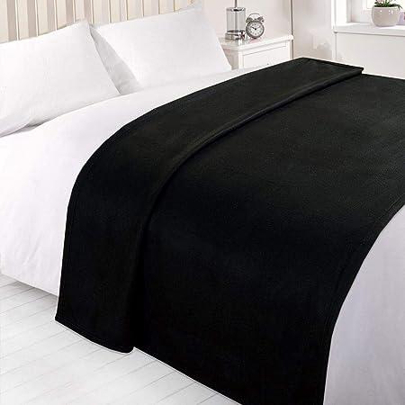 Scena dei sogni Nero 150 x 200 cm 100/% pile di poliestere.