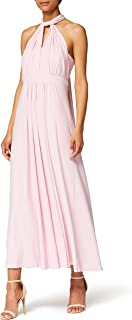 Marchio Amazon - TRUTH & FABLE Maxi Dress Halter Donna