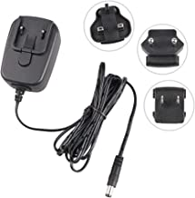 12V Power Adapter Charger with US/EU/UK Travel Plug for Bose Companion 2 Series II Speaker, Yamaha PA130 PA150 Keyboard, Wireless Router, CCTV LED Strip Lights Audio Video