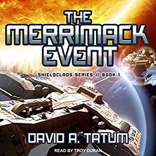 The Merrimack Event audiobook cover art