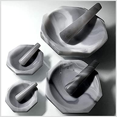 OD=185mm,ID = 150 mm 7.3 Agate Mortar and Pestle
