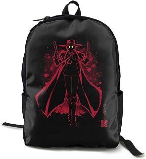 Anime Hellsing The Vampire School Backpack Lightweight Bookbags Students Schoolbag Travel Daypack Laptop Bag for Kids Teens