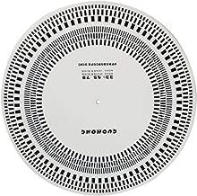 ller76 Disc LP Vinyl Record Turntable Phono Tachometer Calibration Strobe Disc Stroboscope Mat 33 45 78 RPM Speed Tester