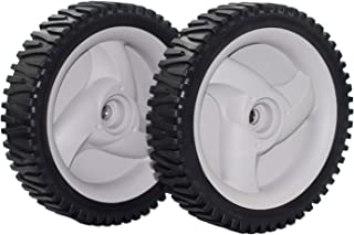 Outdoors & Spares Replaces 532403111 194231x427 194231x460 (2) Craftsman Front Drive Wheels