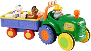 Best kiddieland farm tractor with trailer Reviews