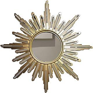 LIUOZ Miroir Décoratif en Forme De Soleil Tenture Murale Entrée Miroir Cheminée Miroir Personnalisé Décoration Murale Miro...
