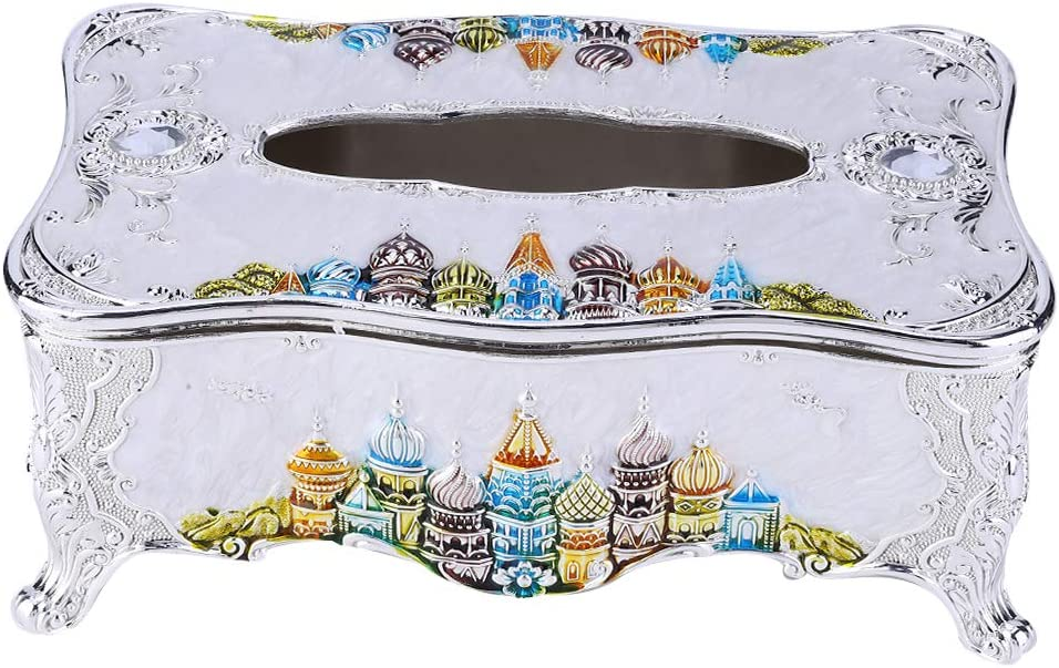 European free shipping Style El Paso Mall Tissue Box Cover Dispe Decorative Vintage Napkin