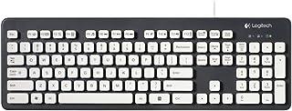 Logitech 罗技 K310 有线水洗键盘(灰色键盘白色按键,可水洗+独特、复古、超薄的设计)
