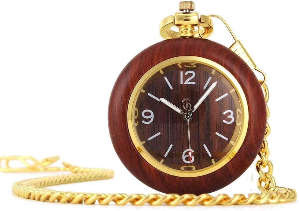 ZHFRC Vintage Mens Pocket Cheap SALE Start Vin Chain with Selling rankings Watch
