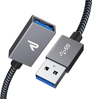 プロランキングRAMPOWUSB延長ケーブル[USB3.0 / 1M / guaranteed]5Gbps高速データ転送USB ..購入
