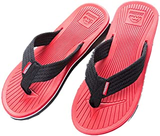 Ms lily Men's Comfortable Flip-Flops Thongs Sandals Beach Slippers