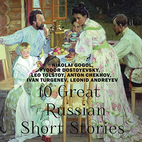 10 Great Russian Short Stories cover art