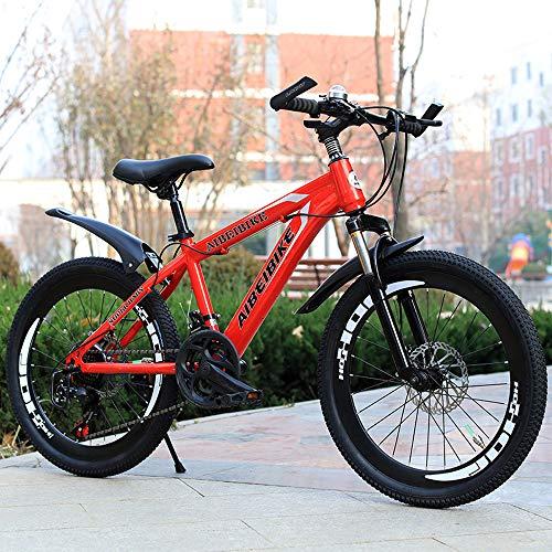 Nerioya Mountainbike/Student Erwachsene Variable Geschwindigkeit Doppelscheibenbremse Stoßdämpfung 20 Zoll-26 Zoll Mountainbike,C,22in