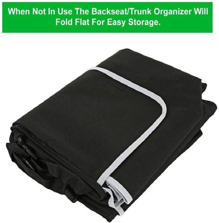 Kofferraumtasche Auto mit 4 Tasche Wasserdichten Taschen Auto HELLOGIRL Kofferraum Organizer Auto