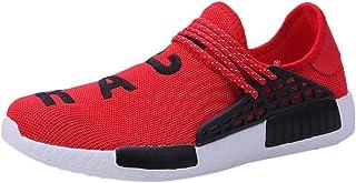 c0d6aa2a WWricotta LuckyGirls Zapatillas de Correr Hombre Mujer Par Estampado  Patchwork Casual Cómodas Calzado para Deporte Zapatos
