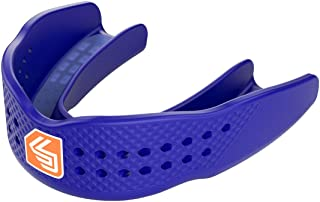 Shock Doctor Mouthguard SuperFit – Easy-Fit Strap/Strapless mouthguard – Low Profile Fit perfect for Basketball, Hockey, L...