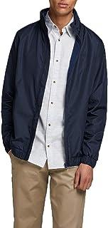 Jack & Jones Mens Smart Casual Classic Harrington Bomber Zip Up Jacket